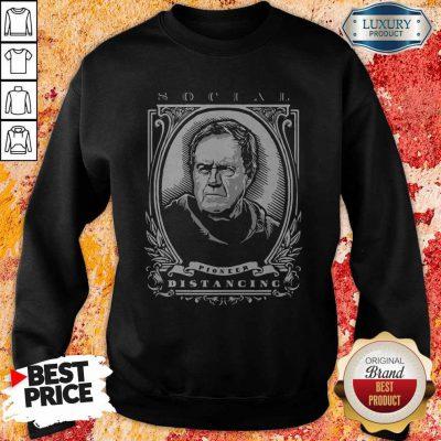 Funny Social Pioneer Distancing Sweatshirt