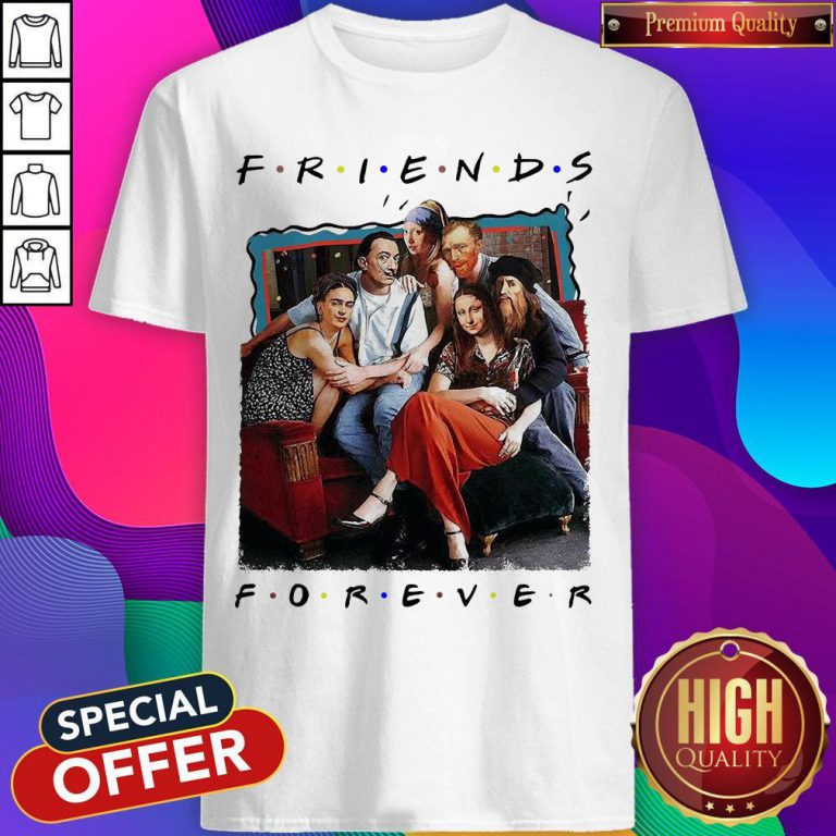 Funny TV Front Cover Friend Forever Shirt