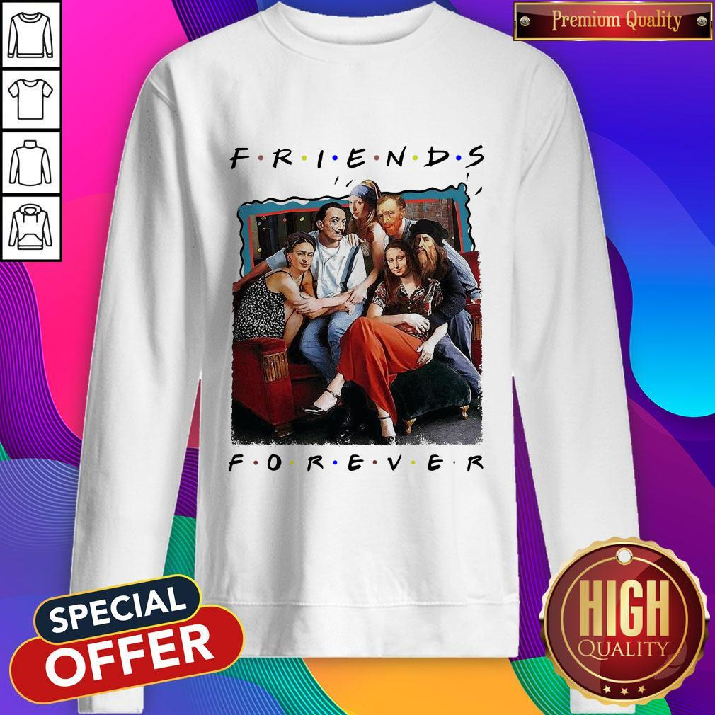 Funny TV Front Cover Friend Forever weatshirt