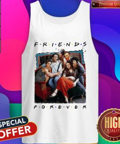 Funny TV Front Cover Friend Forever Tank Top