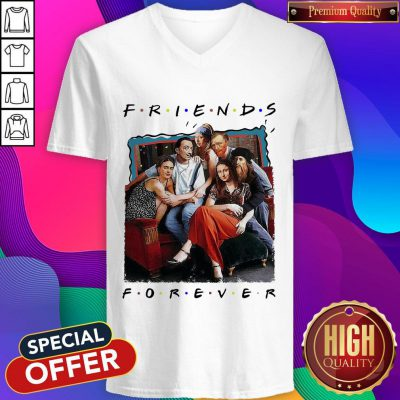 Funny TV Front Cover Friend Forever V- neck
