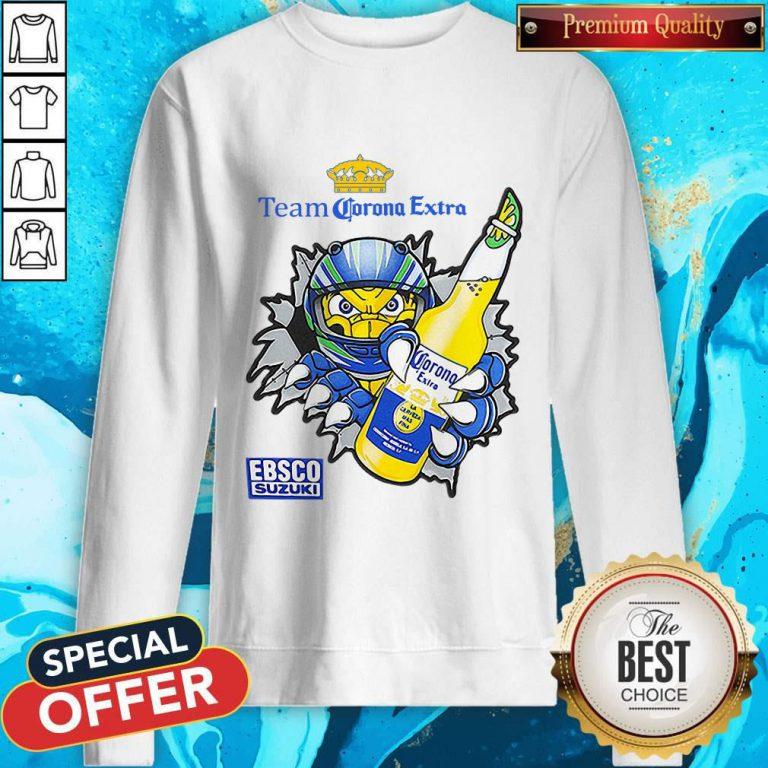 Good Team Corona Extra Ebsco Suzuki weatshirt
