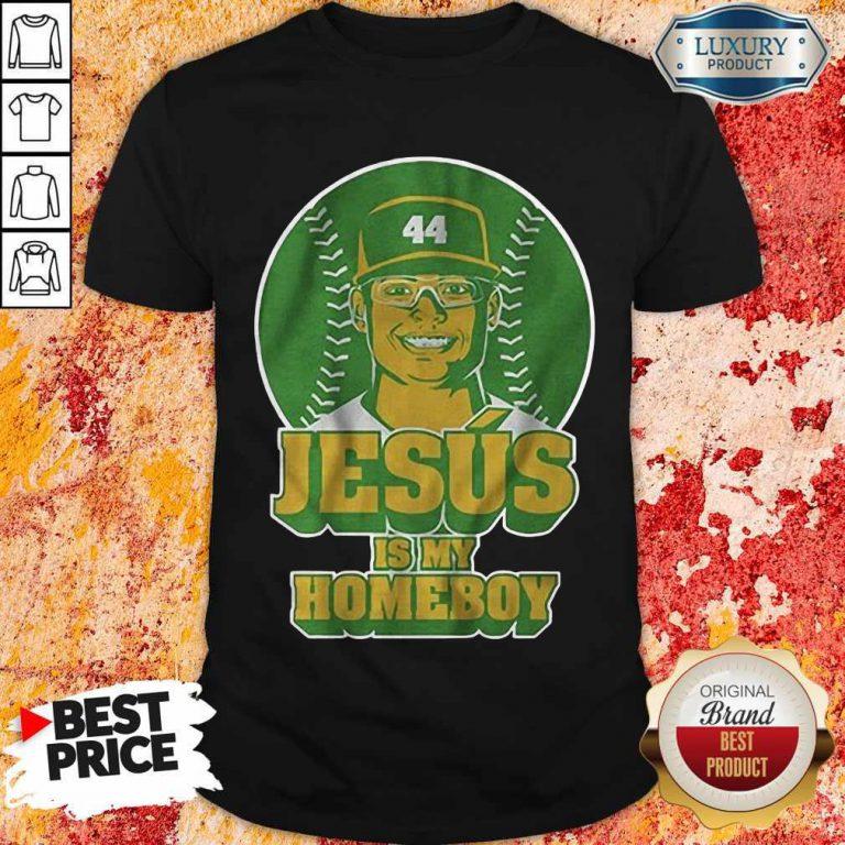 Jesús Luzardo Jesus Is My Homeboy Shirt