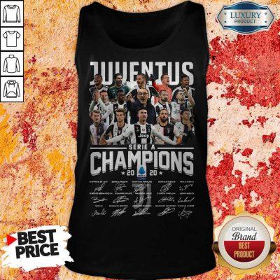 Juventus Serie A Champions 2020 Signatures Tank Top