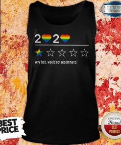 Lgbt 2020 Heart Very Bad Would Not Recommend Stars Tank Top