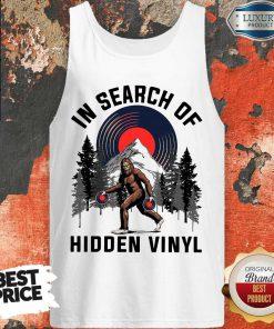 Nice Bigfoot In Search Of Hidden Vinyl Tank Top