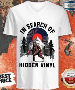 Nice Bigfoot In Search Of Hidden Vinyl V- neck
