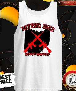 Nice Gun Defend Ohio Official Tank Top