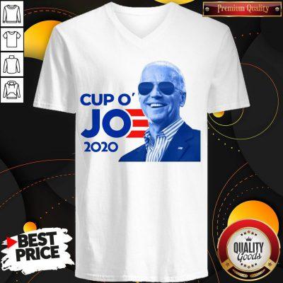 Nice Joe Biden For President 2020 Cup O' Jo V- neck