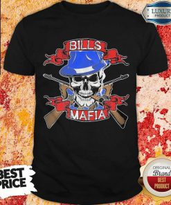 Nice Skull Bills Mafia T-Shirt