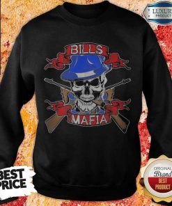 Nice Skull Bills Mafia T-weatshirt