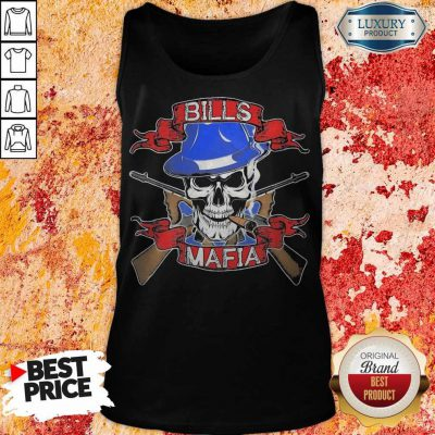 Nice Skull Bills Mafia T- Tank Top