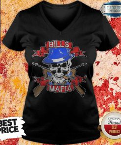 Nice Skull Bills Mafia T- V- neck