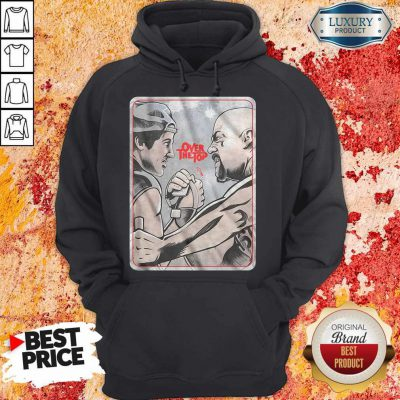 Official Lincoln Hawk vs Bull Hurley Over The Top Hoodie