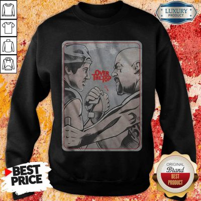 Official Lincoln Hawk vs Bull Hurley Over The Top weatshirt
