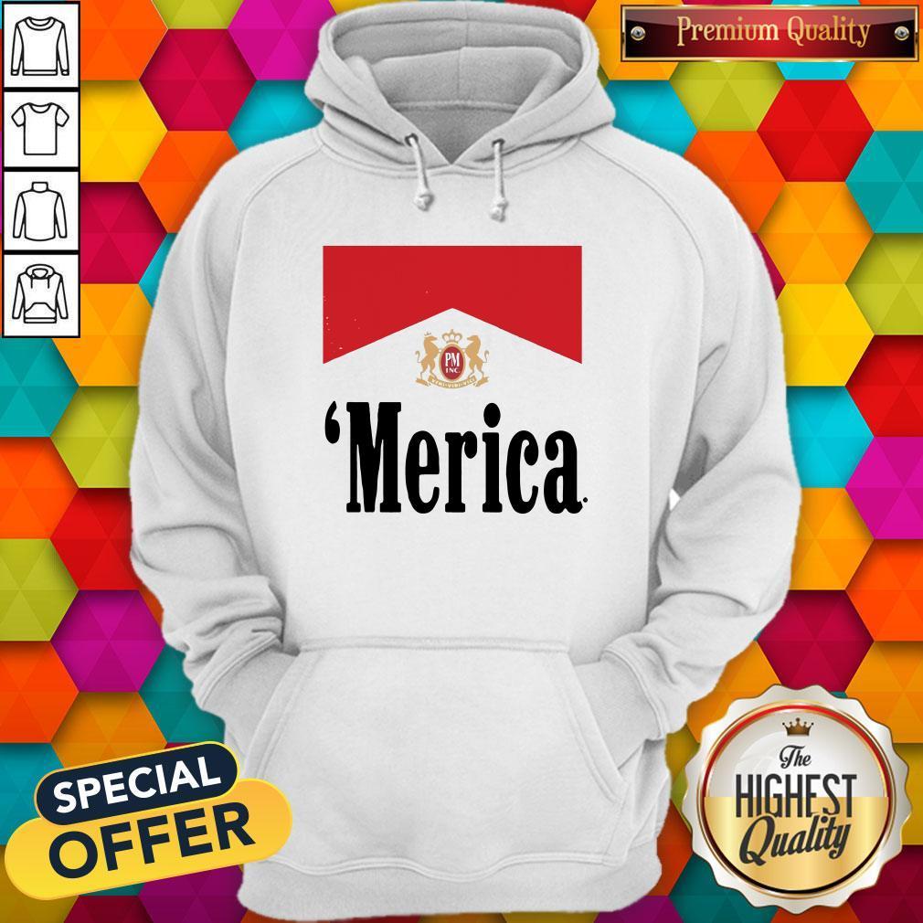 Official Philip Morris Merica Hoodiea