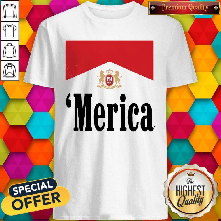 Official Philip Morris Merica Shirt