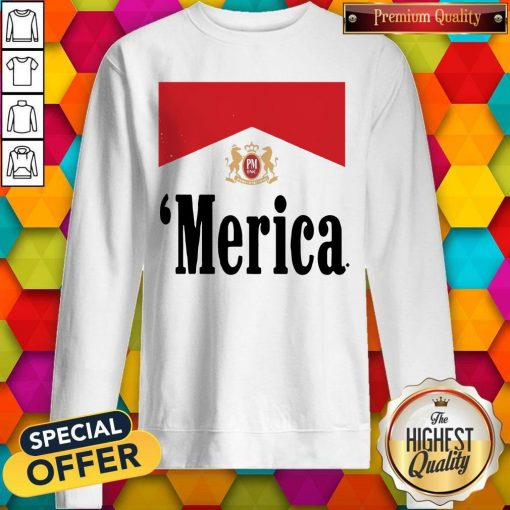 Official Philip Morris Merica weatshirt