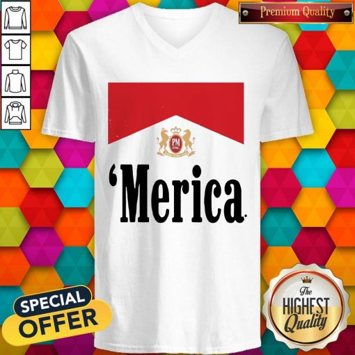 Official Philip Morris Merica V- neck