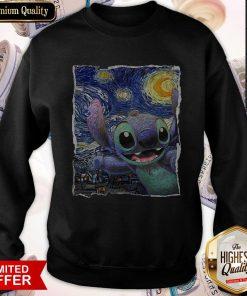 Official Stitch Starry Night Sweatshirt