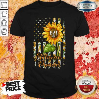 Official Sunflower Proud Childcare Provider Shirt