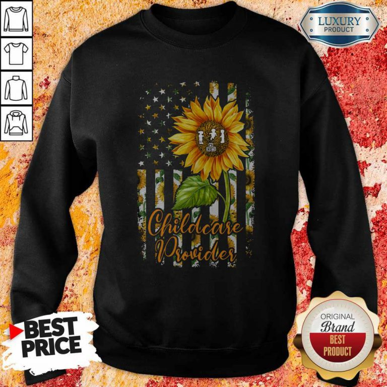 Official Sunflower Proud Childcare Provider Sweatshirt