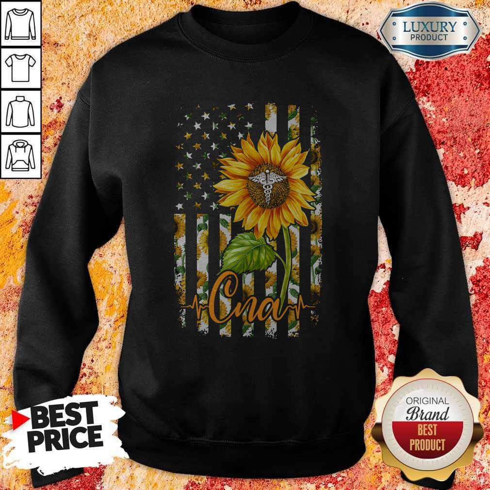 Official Sunflower Proud Cna Sweatshirt