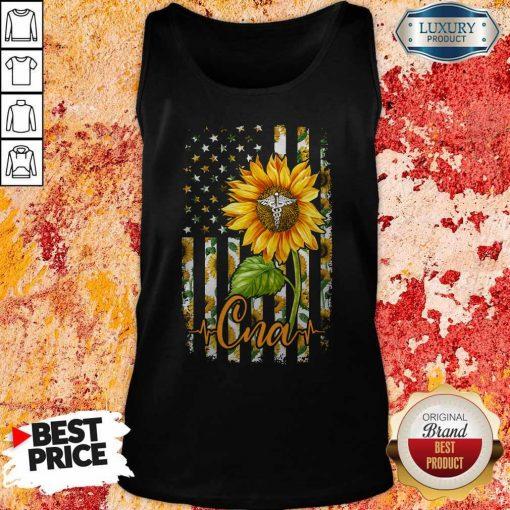 Official Sunflower Proud Cna Tank Top