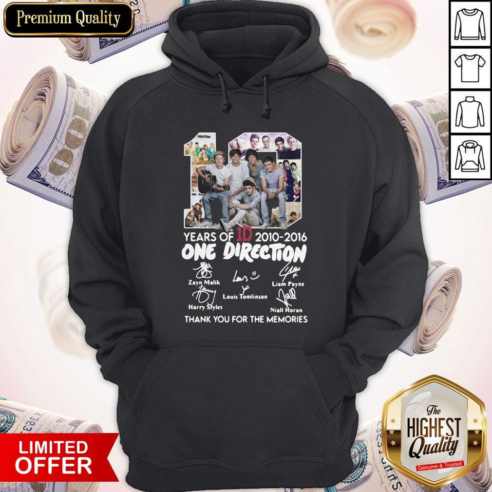 One Direction Thank You For Everything Signature Hoodie
