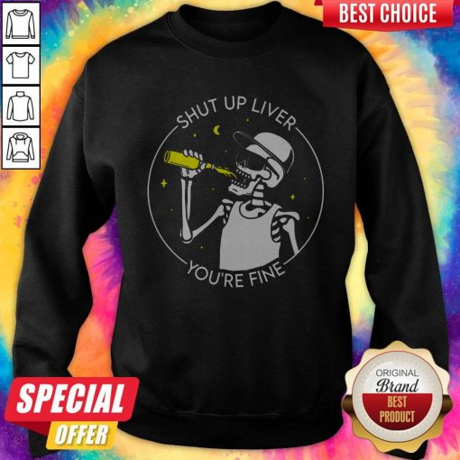 Original Skull Shut Up Lever Sweatshirt