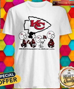 Peanuts Characters Kansas City Chiefs Shirt