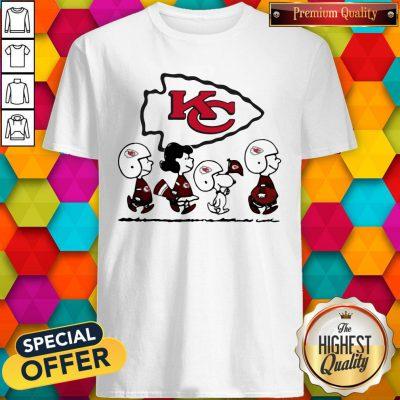 Peanuts Characters Kansas City Chiefs Shirt