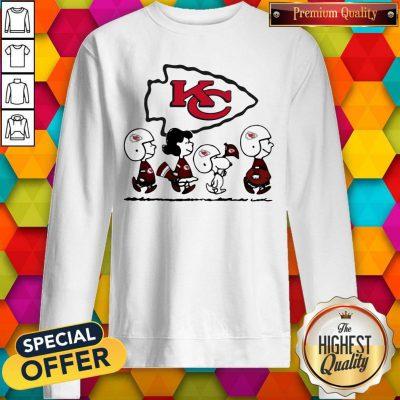 Peanuts Characters Kansas City Chiefs weatshirt
