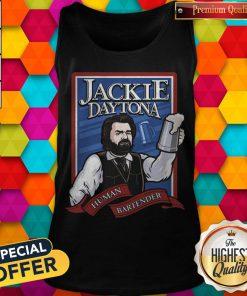 Perfect Jackie Daytona Human Bartender Tank Top