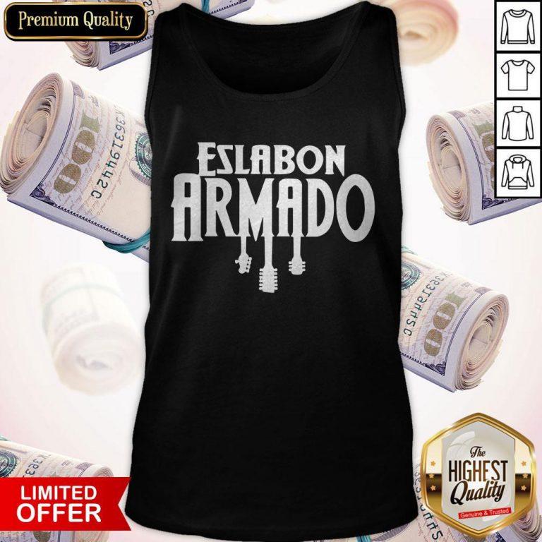 Premium Eslabon Armado Guitar Tank Top
