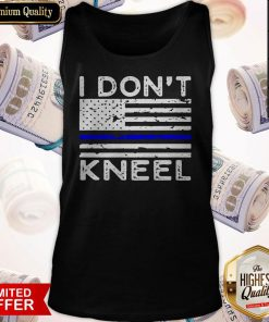 Pretty I Don't Kneel Tank Top