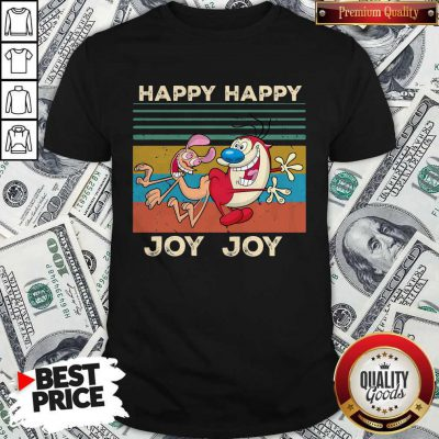 Ren And Stimpy Happy Happy Joy Joy Vintage Shirt