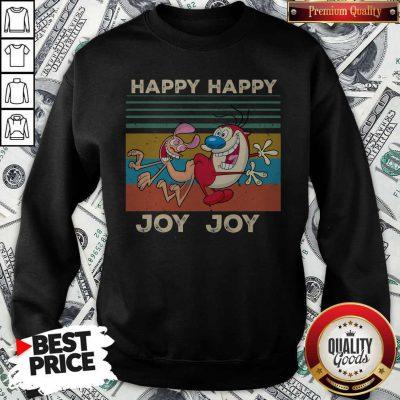 Ren And Stimpy Happy Happy Joy Joy Vintage Sweatshirt
