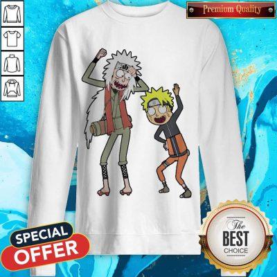Rick And Morty Mashup Naruto And Jiraiya weatshirt