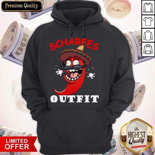 scharfes-outfit-comic-chilli-scharfe-chili-langarm Hoodie
