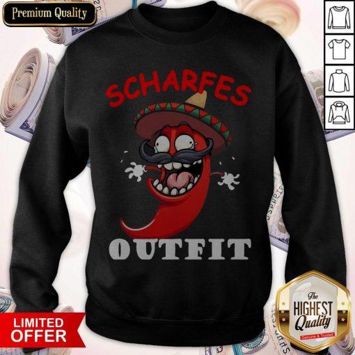 scharfes-outfit-comic-chilli-scharfe-chili-langarm weatshirt