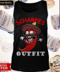 scharfes-outfit-comic-chilli-scharfe-chili-langarm Tank Top