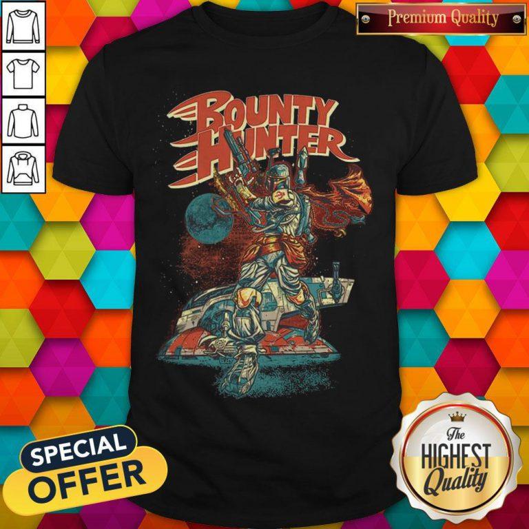 Star War The Mandalorian Bounty Hunter Shirt