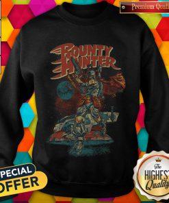 Star War The Mandalorian Bounty Hunter weatshirt