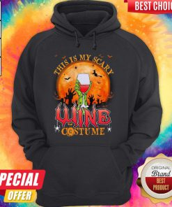 This Is My Scary Wine Costume Halloween Hoodie