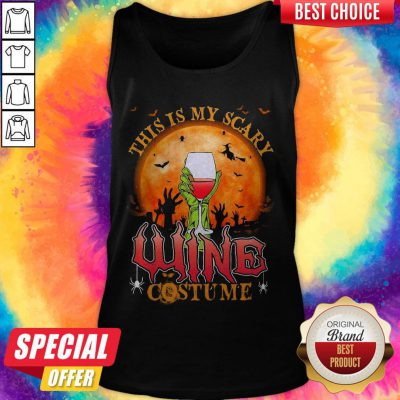 This Is My Scary Wine Costume Halloween Tank Top