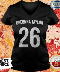 Top Breonna Taylor 26 V- neck