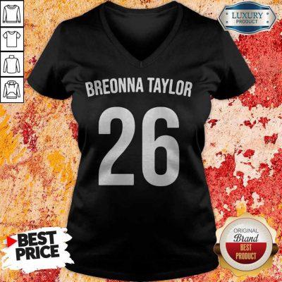 Top Breonna Taylor 26 V- neck