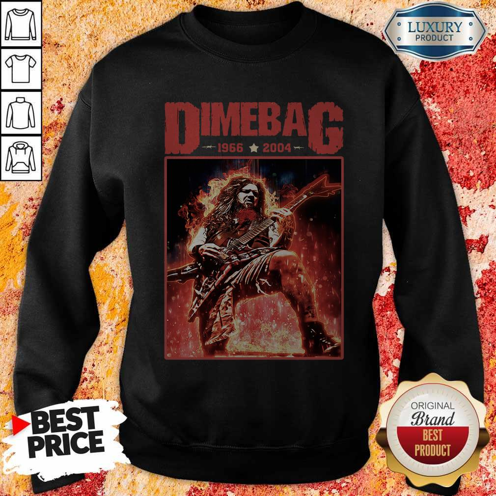 Top Dimebag 1966 And 2004 weatshirt