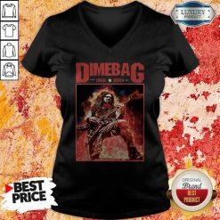 Top Dimebag 1966 And 2004 V- neck